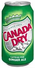 ginger ale review Canada Dry